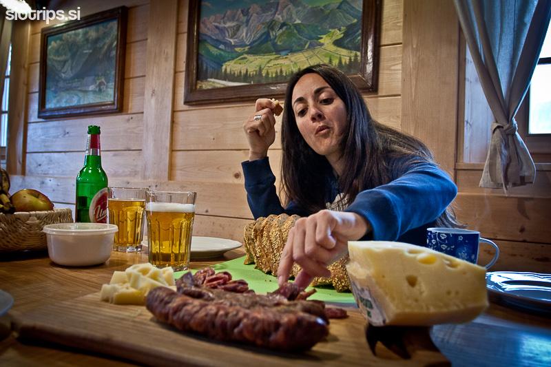 alpine farmstay senk jezersko slovenia