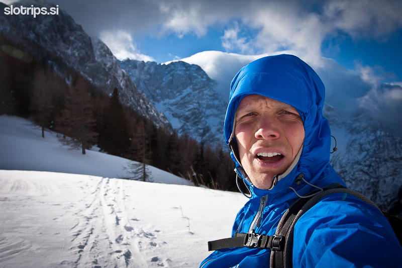 winter alps jezersko slovenia goli vrh