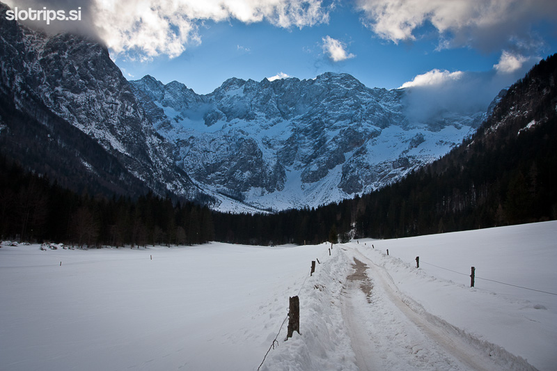 winter alps jezersko slovenia