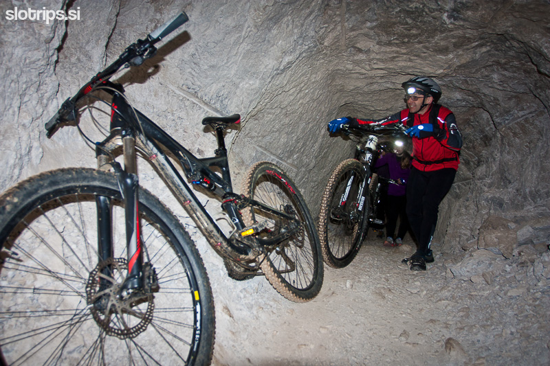 underground mountain biking slovenia