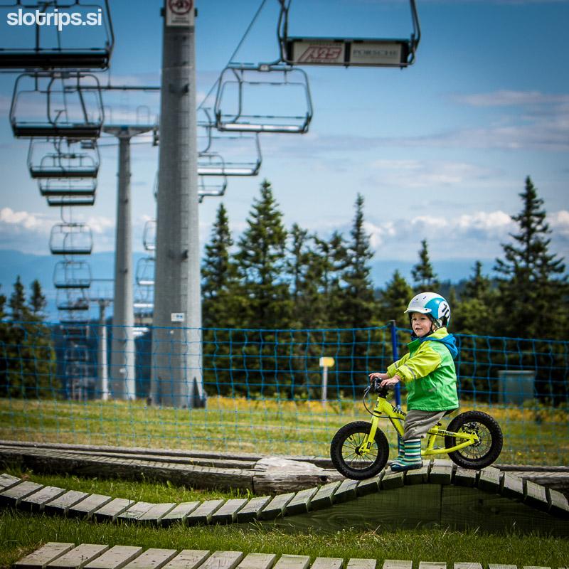 bike park rogla slovenija otroci