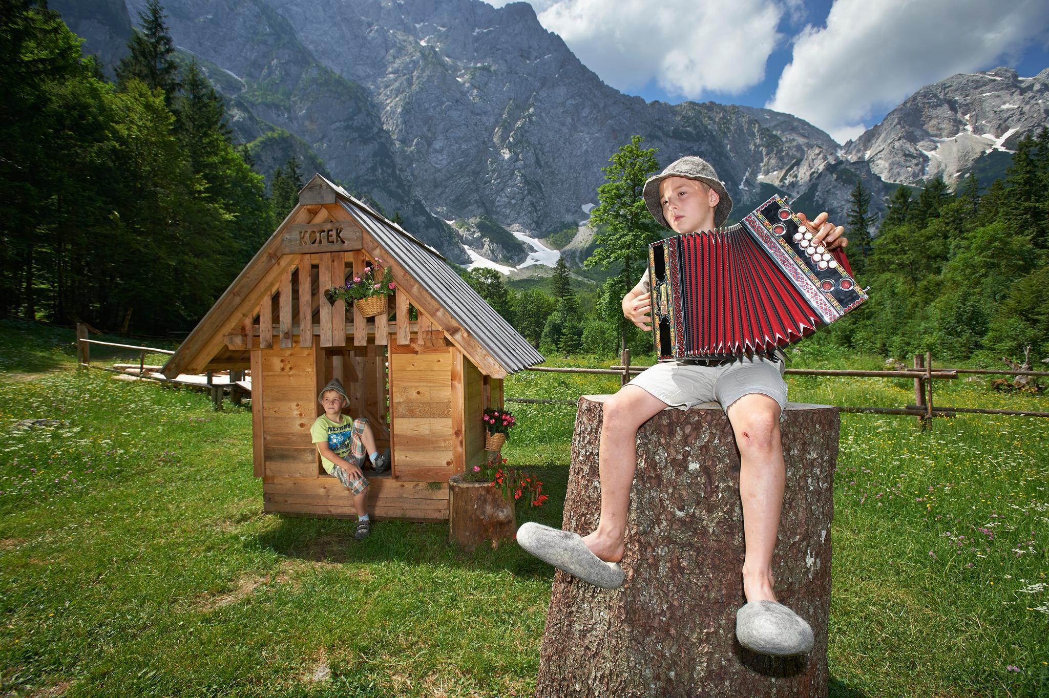 logar valley kot slovenia