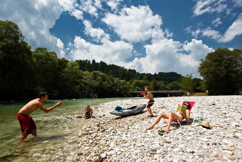 kamp sobec bled slovenija