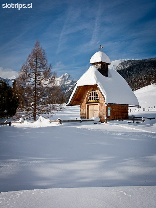 hiking walking tours slovenia julian alps winter