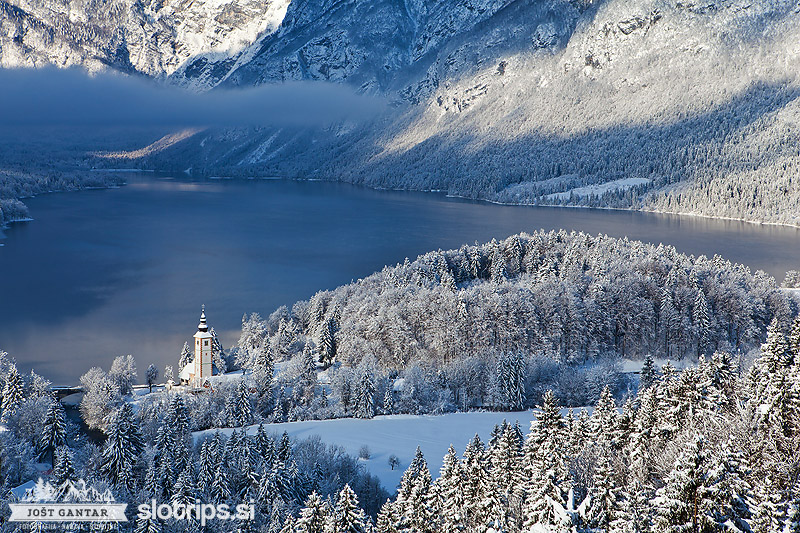 hiking walking tours slovenia julian alps winter