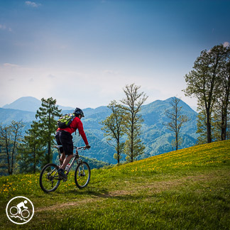 ljubljana mountain biking day trip slovenia