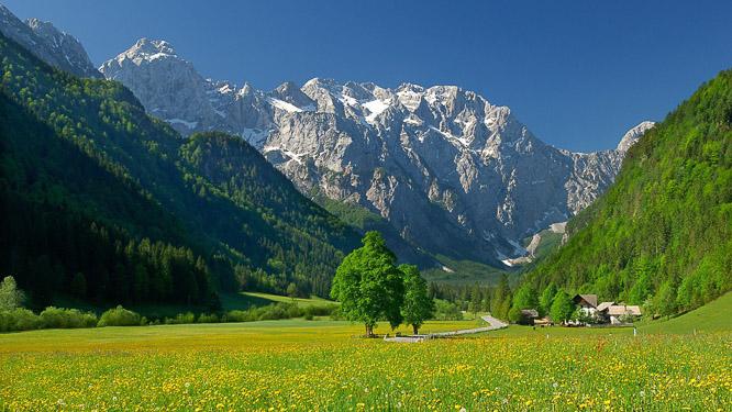 lenar kmetija logarska dolina slovenija