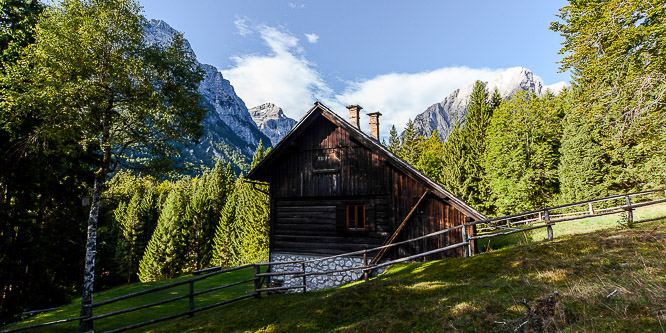 3 - Alpine cottage in Vrata valley, Triglav