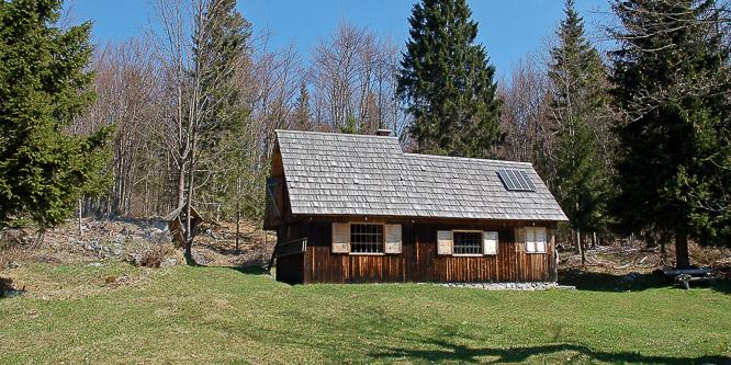 1 - Pastirska koča na planini Vogar, Bohinj