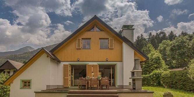 6 - Počitniška hiša Chalet Planina, Bohinj