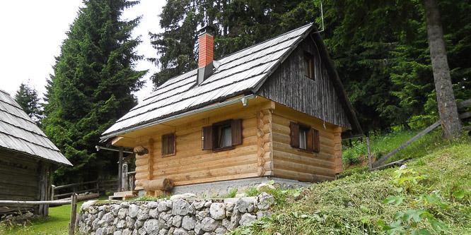 1 - Alpine cottage Jelje, Bohinj