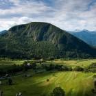 5-Pogled na Zgornjo bohinjsko dolino in Rudnico
