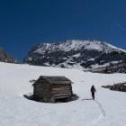 25-Smučanje s Kanjavca: Planina pod Mišelj vrhom