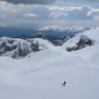 22-Smučanje iz Zadnjega Vogla proti planini Laz
