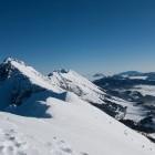 4-Greben Košute in planine pod njim