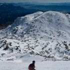 16-Skiing from Veliki vrh towards Dleskovec