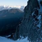 7-Storžič - Pogled nazaj (zadaj greben Košute)