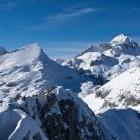 13-Triglav in Veliki Draški vrh iz Viševnika