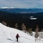 5-Debeli vrh - Pogled na Pokljuko in Kamniške Alpe