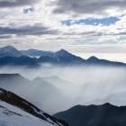 16-Storžič in Kamniške Alpe iz vrha Begunjščice