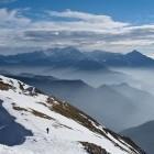 19-Spust po grebenu Begunjščice proti vzhodu
