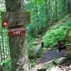 4-Oznake opozarjajo na zahtevno pot