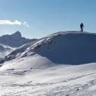 7-Ski touring towards Krn