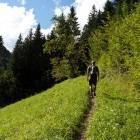 1-Blegoš - Start of the path at Volaka hamlet