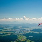 """8-There is a popular """"jump-off"""" point for paragliders on Kriška gora"""