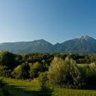 16-Kriška gora in Tolsti vrh (levo) ter Storžič (desno)
