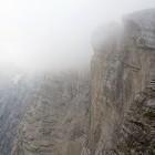 "17-Triglav ""Čez Plemenice"" - Sfinga in fog"