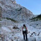 1-Rjavina - Ascent from Kot valley