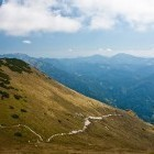 15-Črna prst - Reaching the ridge and view towards south
