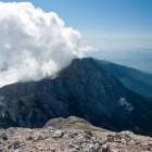 14-Grintovec - Pogled nazaj na Kalški greben in Krvavec