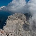 15-Grintovec - Dolgi hrbet je pokukal izza oblakov