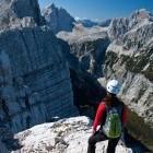 29-Mala Mojstrovka - Razgled tik pod vrhom