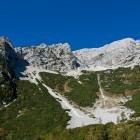 1-View towards Mala Mojstrovka from Vršič pass
