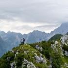 20-Na vrhu Svinjaka, Bavški Grintavec je v oblakih