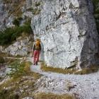 1-Bornova pot proti planini Preval