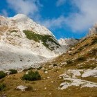 22-Pogled nazaj na Srenjski preval in Mali Draški vrh