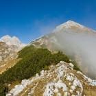 5-Po grebenu proti Velikem Draškem vrhu