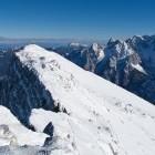 27-Pogled nazaj na greben Mojstrovk