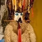 10-Zbirka pustnih mask v grajskem muzeju