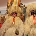 11-Zbirka pustnih mask v grajskem muzeju