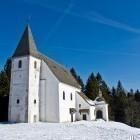 11-St. Areh church near the slopes