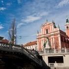 3-Prešeren square and the Triple Bridge