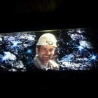 3-Video projection in Anthony shaft