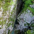 27-Pogled na Koritnico iz mostu pri trdnjavi Kluže