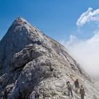 34-Ridge towards Prisojnik summit