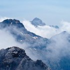 35-Razgled z vrha Prisojnika proti Razorju in Triglavu
